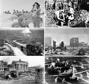 Montage of World War II