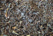 Té negro de Assam después de su