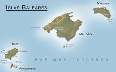 Localización de Menorca