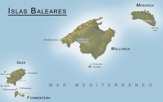 Baleares mapa