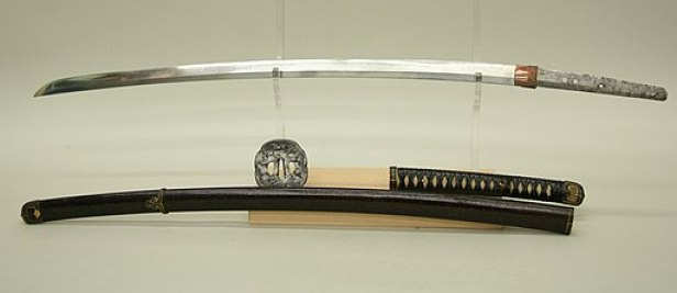 Blade and Mounting for a Sword (Katana) MET sfsbx11s2