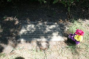 English: Photo of the grave of Bonnie Parker