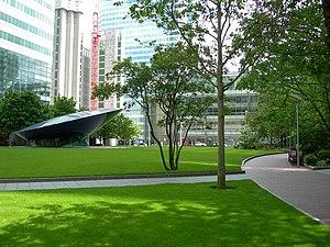 English: Canada Square Park, Canada Square, Ca...