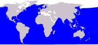 Distribuição da baleia-sei