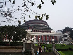 Municipality Hall of Chongqing, China