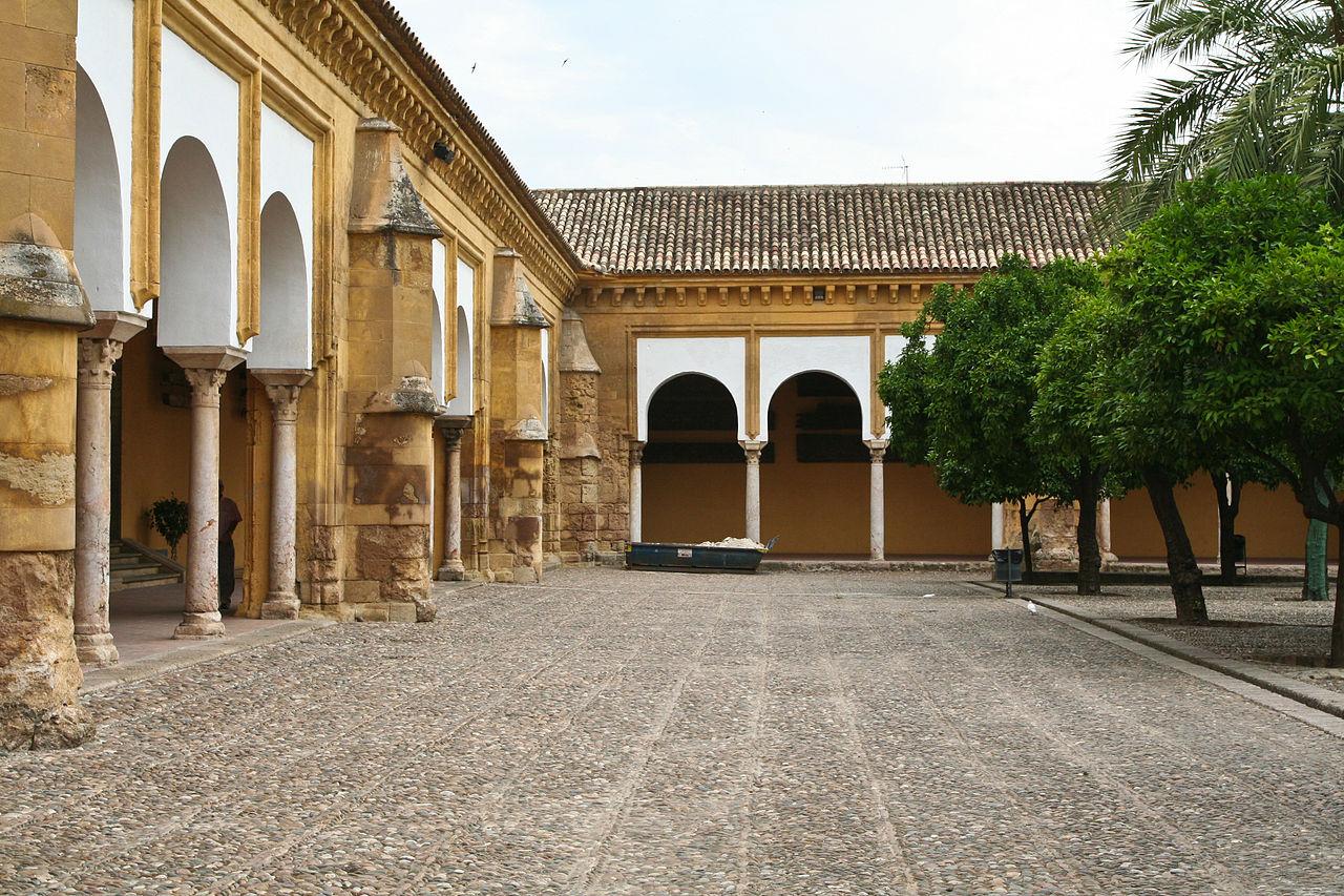 File Courtyard Cathedral Of Cordoba Jpg Wikimedia Commons