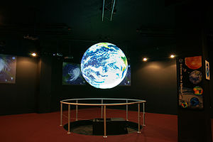 English: NOAA's Science On a Sphere ® in the P...