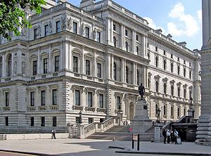 The Foreign and Commonwealth Office, Whitehall...