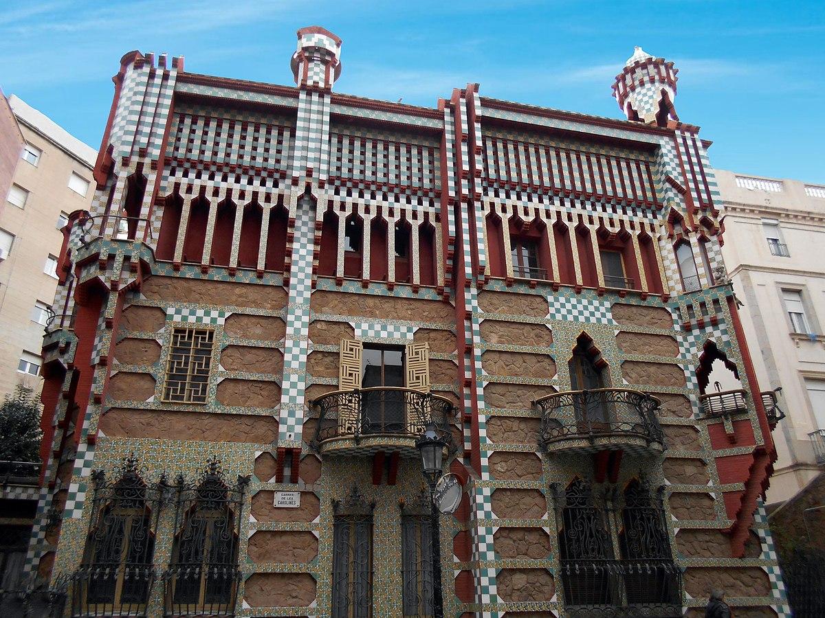 Casa Vicens  Wikipedia la enciclopedia libre