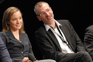 Kristina Schröder, Volker Beck, PolitCamp 2010