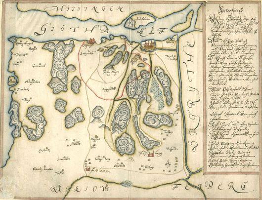 Älvsborgs kungsladugård 1660-talet