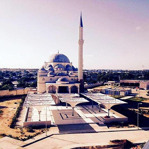 Mosque in mogadishu
