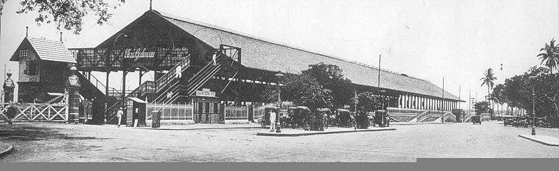 Churchgate station 1930