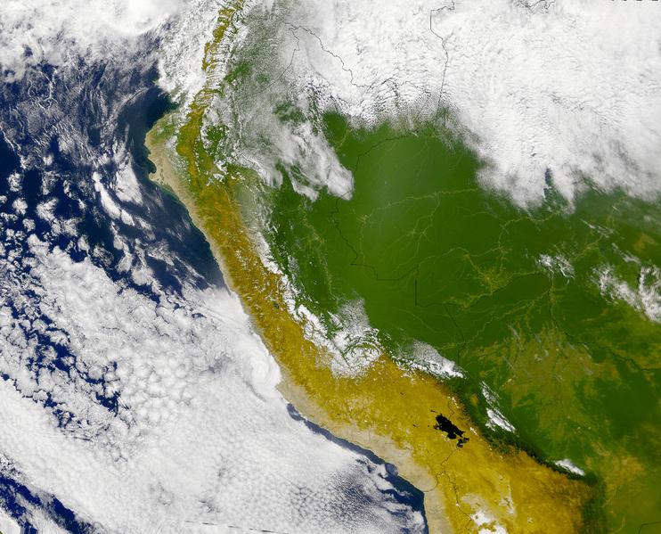 le Pérou vu d'en haut