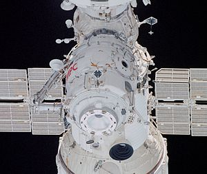 *Pirs docking module taken by STS-108 (NASA) *...