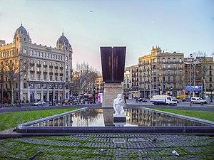 Monument to Francesc Macià, President of the G...