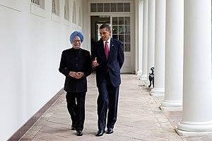 President Barack Obama escorts Prime Minister ...