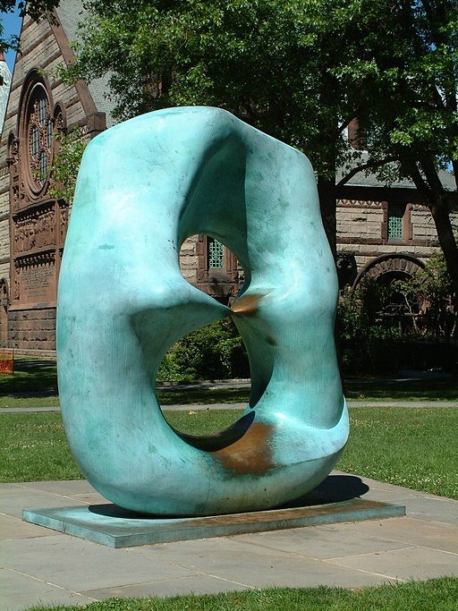 """""""Oval with Points"""" by Henry Moore"""