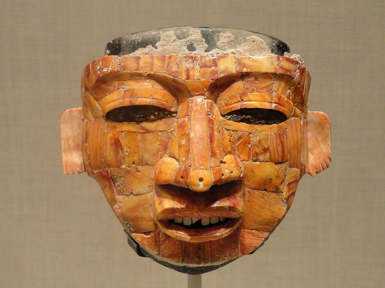 File Shell Mosaic Ritual Mask 300 600 Ad Teotihuacan