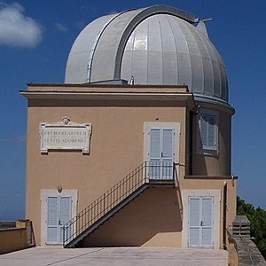 English: Vatican Observatory Telescope in Cast...