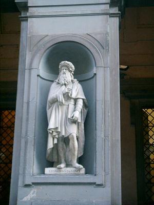 Uffizi 08, Leonardo Da Vinci