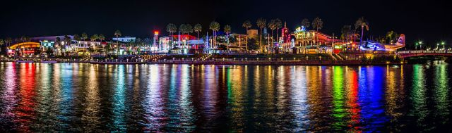 Universal CityWalk Orlando Panorama