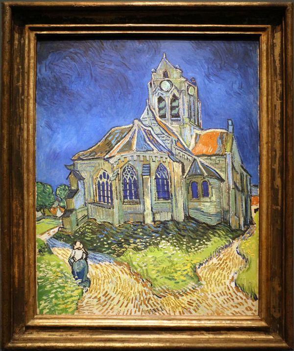 File Vincent Van Gogh La Chiesa Di Auvers-sur-oise 1890