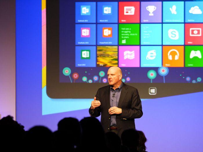 Windows 8 Launch - Steve Ballmer