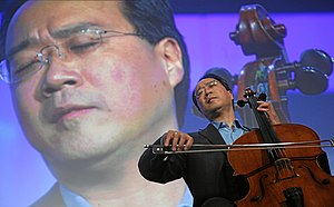 DAVOS/SWITZERLAND, 25JAN08 - Yo-Yo Ma, Cellist...