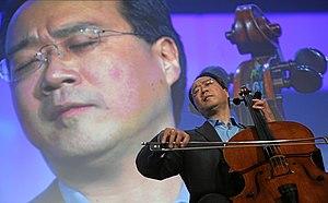 DAVOS/SWITZERLAND, 25JAN08 - Yo-Yo Ma, Cellist...