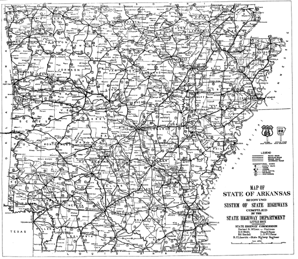 1926 Arkansas state highway numbering Wikipedia
