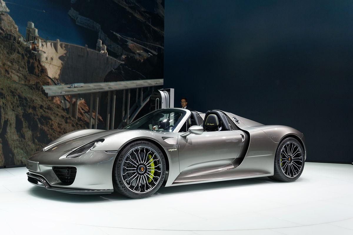 Porsche 918  Wikipdia