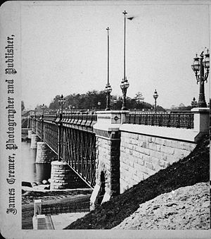 The second Girard Avenue Bridge, Fairmount Par...