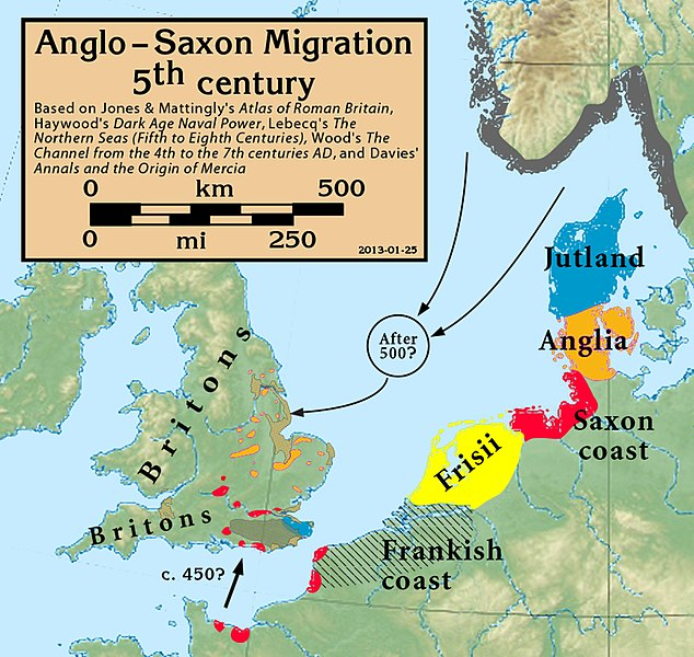 Map Of England 793 Ad.Where Was The Kingdom Of Northumbria Anyway A H Gray