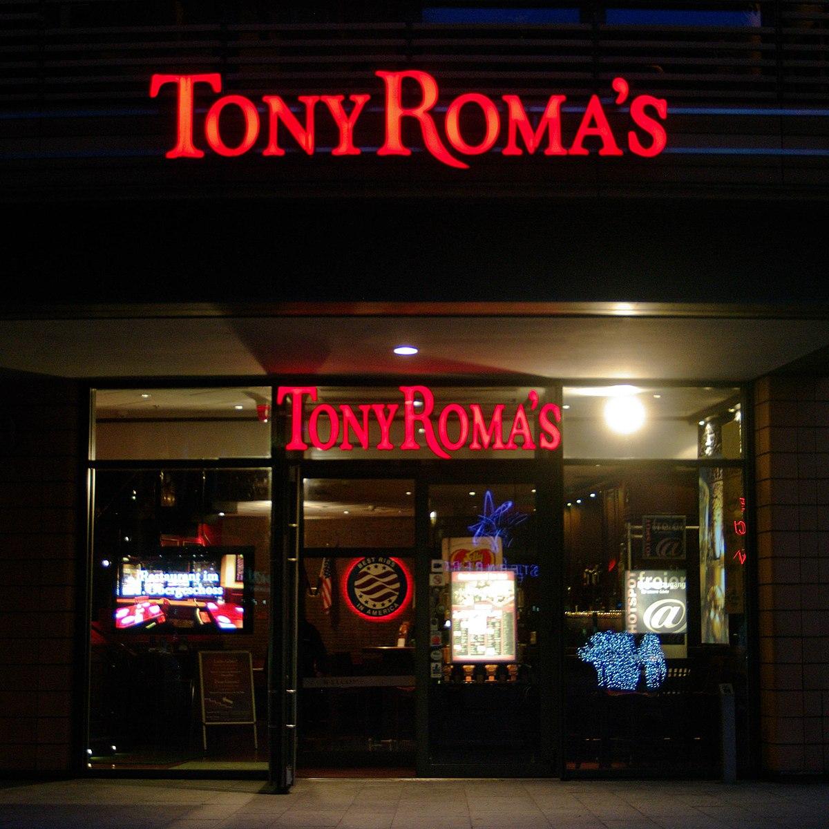Tony Romas  Wikipedia la enciclopedia libre