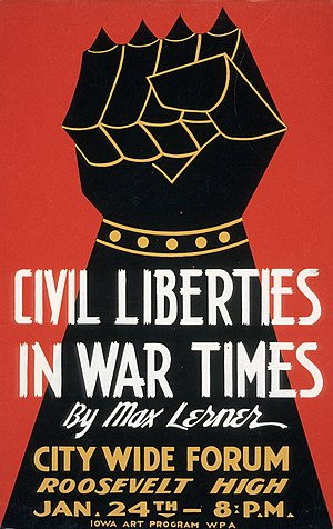 English: Civil Liberties in War Times by...