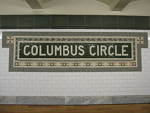 59th Street – Columbus Circle (IRT Broadway – ...