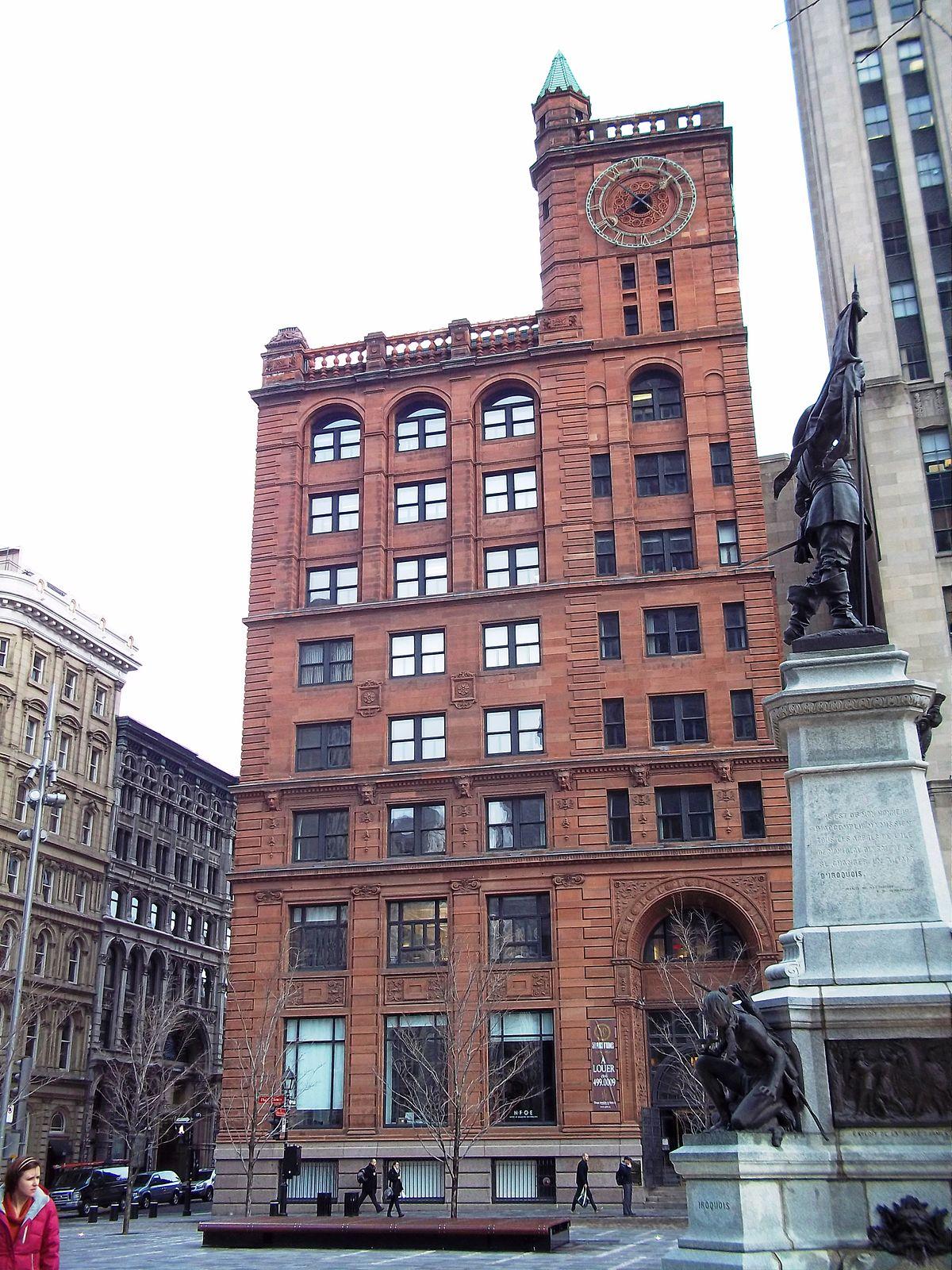 New York Life Insurance Building Montreal  Wikipedia