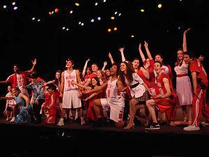 English: Cast of Pacific Repertory Theatre's S...