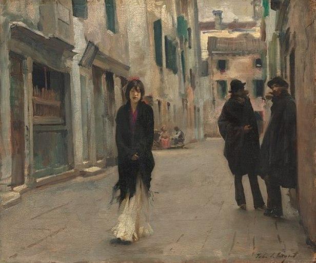 John Singer Sargent - Street in Venice