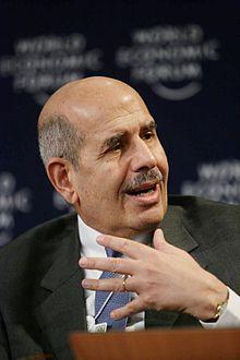 Mohamed ElBaradei, Davos 1.jpg