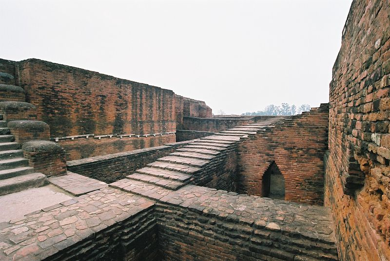 File:Nalanda Buddhist University Ruins.jpg