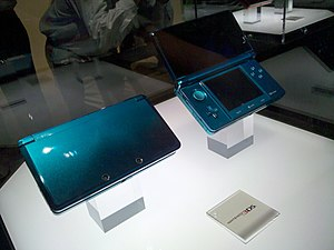 English: Nintendo 3DS Deutsch: Nintendo 3DS