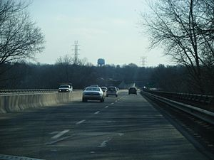 Southbound Pennsylvania Route 100 (Pottstown P...