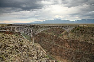 U.S. Route 64 Rio Grande Gorge Bridge near Tao...
