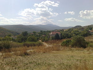 village of Sopot, near Veles, Macedonia