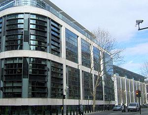 English: The Home Office, Marsham Street, West...