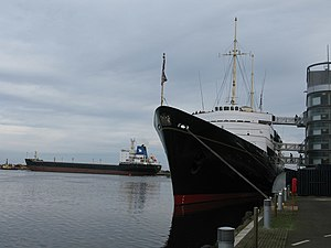 The Royal Yacht Britannia