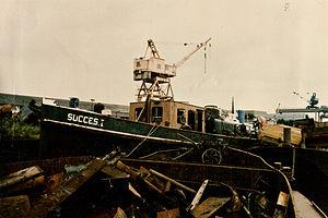Nederlands: ss Succes op de sloop
