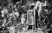 Vasco da Gama entrega a carta do rei Dom Manuel I de Portugal ao Samorim de Calicute.jpg